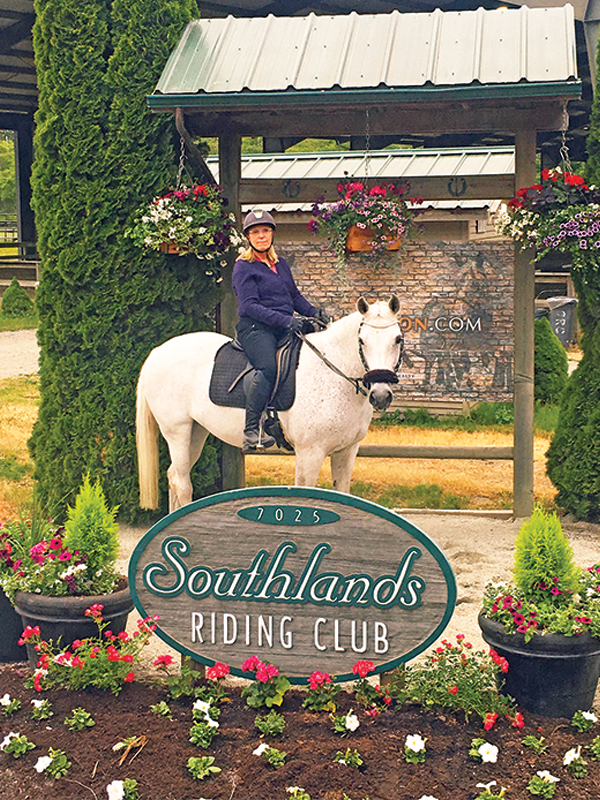 Southlands Riding Club in Vancouver BC, Southlands Riding Club president Whitney Santos, not-for-profit horse riding clubs in BC