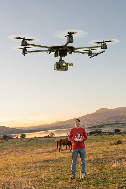horses and drones, train your horses around drones, drone laws 2019