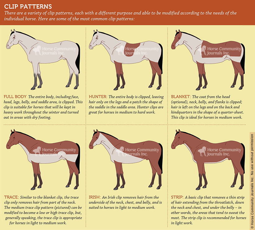 Clipping patterns