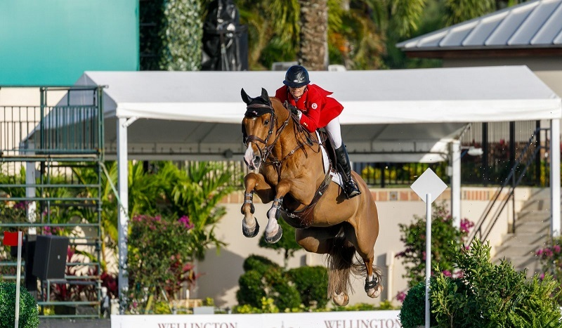 CANADIAN SHOW JUMPING TEAM WELLINGTON NATIONS CUP, amy miller double clear 2021 wellington nations cup, mario deslauriers 2021, tiffany foster nations cup