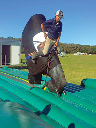 how to fall off of a horse, protect your child from horse accidents, riding a horse safely, land safe equestrian