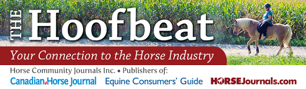 canadian horse journal enewsletter, the hoofbeat enewsletter, horse enewsletter, equine enewsletter, equine express enewsletter