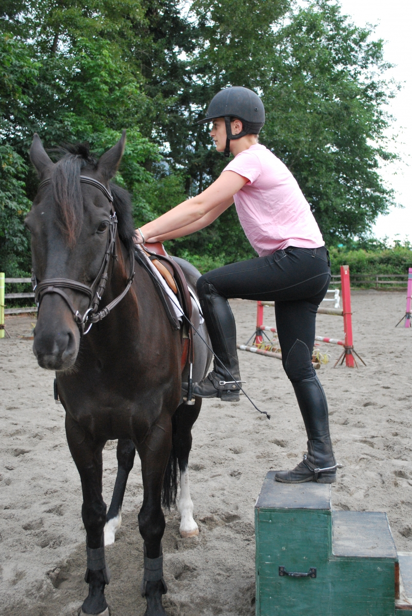 Lindsay Grice, horse mounting manners, horse manners, horse, mounting block, how to mount horse, horse groundwork
