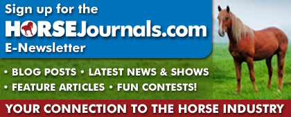 Canadian Horse Journal e-newsletter sign-up