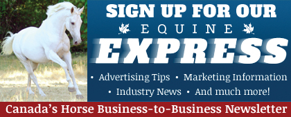 Equine Express e-newsletter sign-up
