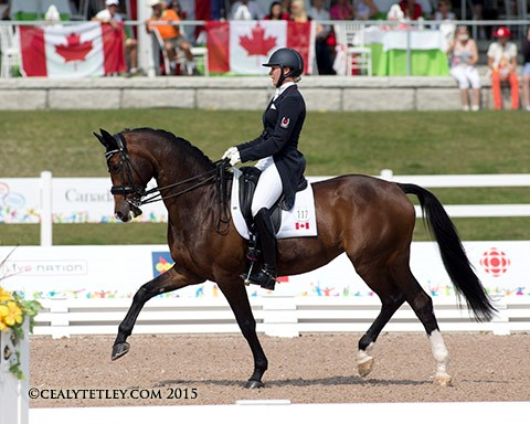 Canadian Dressage Team Claims Silver Medal At Pan American