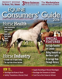 equine consumers' guide, canadian horse journal, horse industry special issue, canadian equine industry, canadian horse industry, market to canadian horse people