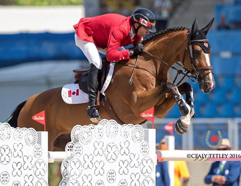 equine show jumping team Rio 2016 Olympic Games Canadian Show Jumping Team Eric Lamaze Yann Candele Guilherme Jorge Brazil, Amy Millar, tiffany foster, Mark Laskin, Karen Hendry-Ouellette Dr. Sylvie Surprenant