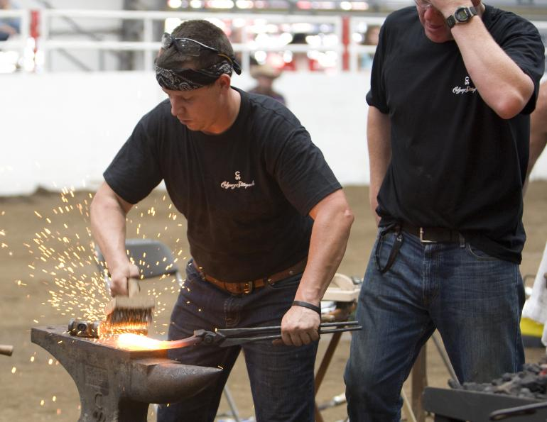 horse industry careers, Equine Farrier career, horse rider Rider Fitness career