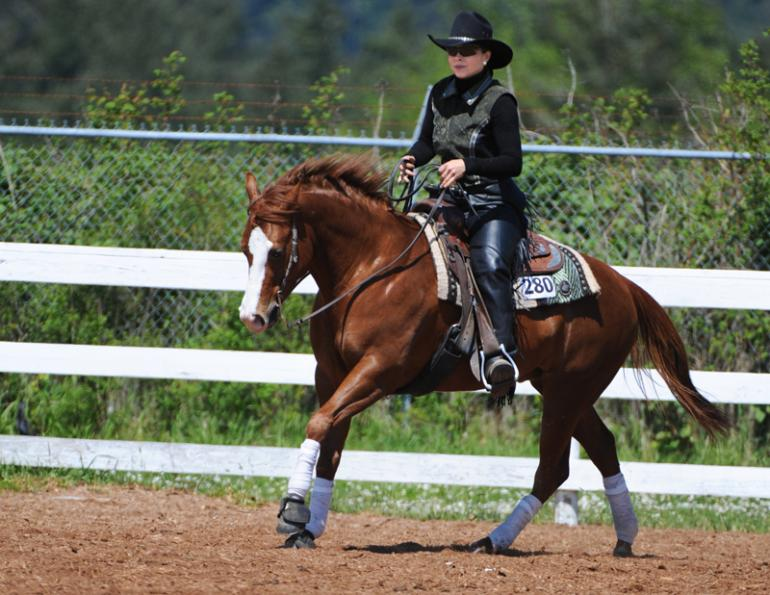 Lindsay Grice, horse training, horse riding canter, self-carriage horse, riding self-carriage, establishing expectations in horses