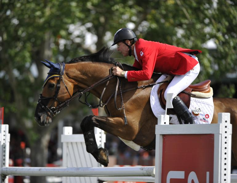 Ian Miller, World Equestrian Games, Equine Show Jumping