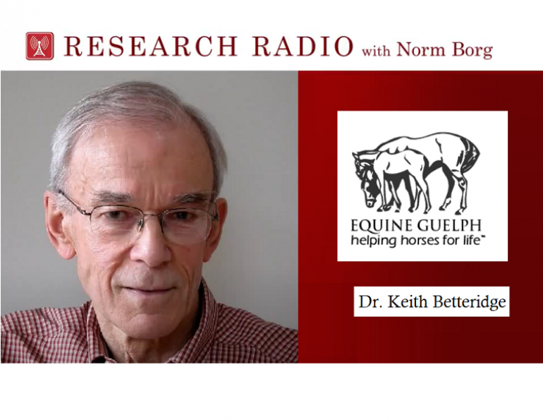 equine guelph research radio, podcast for horse people, horse health podcast