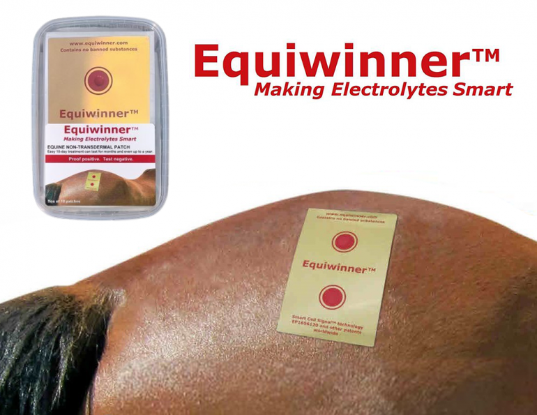 Equiwinner™n equine Electrolytes equine hydration horse impaction colic signal health electrolyte patch horse