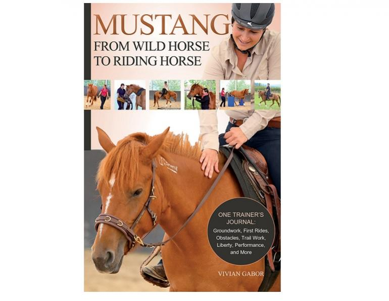 mustang from wild horse to riding horse, vivian gabor horse trainer, mustang roundups, mustang makeovers