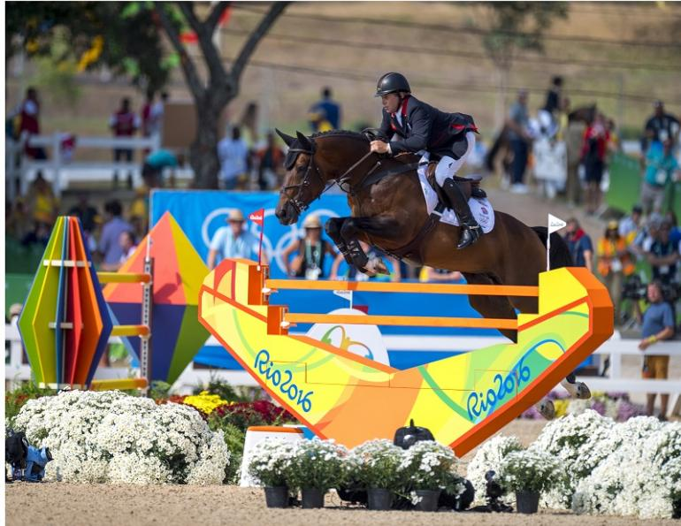 Nick Skelton Olympic Individual Jumping GoldDeodoro Olympic Park in Rio de Janeiro Peder Fredricson Eric Lamaze