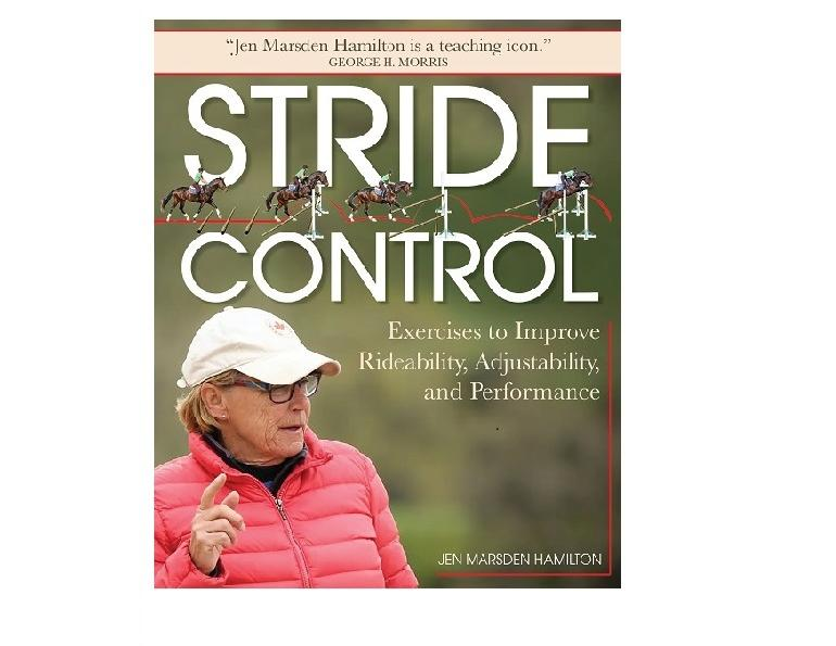 stride control book jen marsden hamilton, great show jumping book, best books for eventing