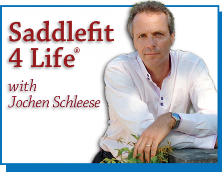 Schleese Circle of Influence, saddlefit for life, schleese, saddle balance, schleese saddle, jochen schleese. saddle fit
