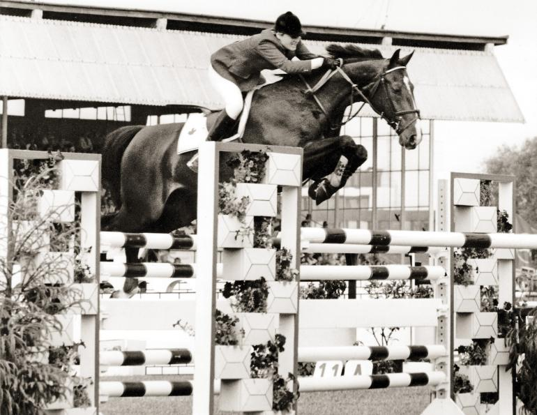 gail greenough show jumping, canadian equestrian team world cup show jumping, olympic show jumper