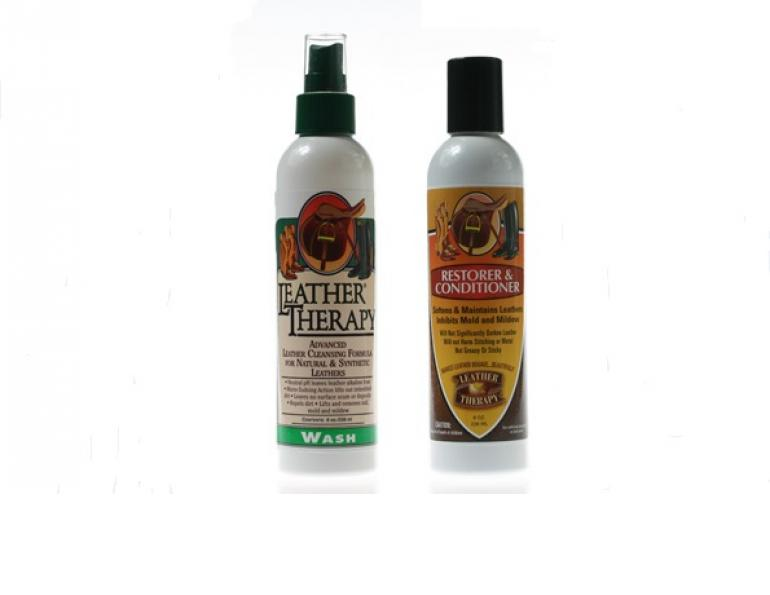 Leather Therapy Equestrian Wash and Restorer & Conditioner