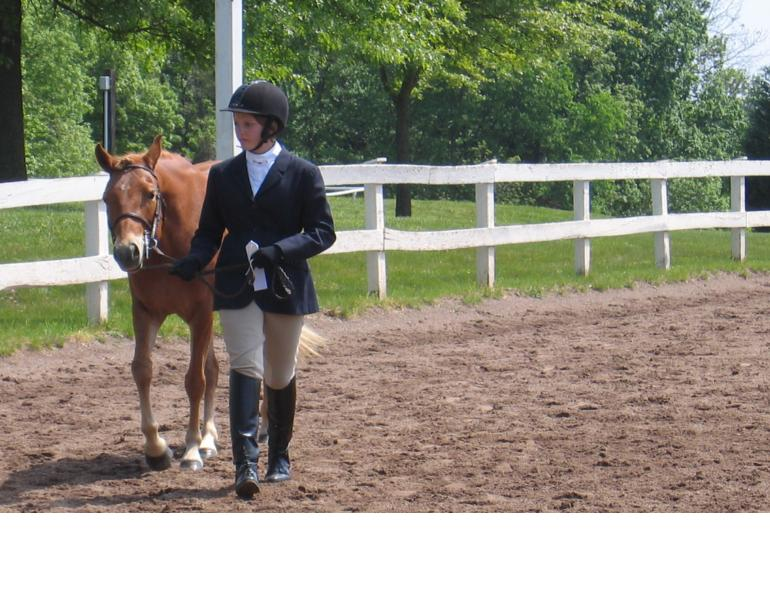 A Willing Trot in Showmanship