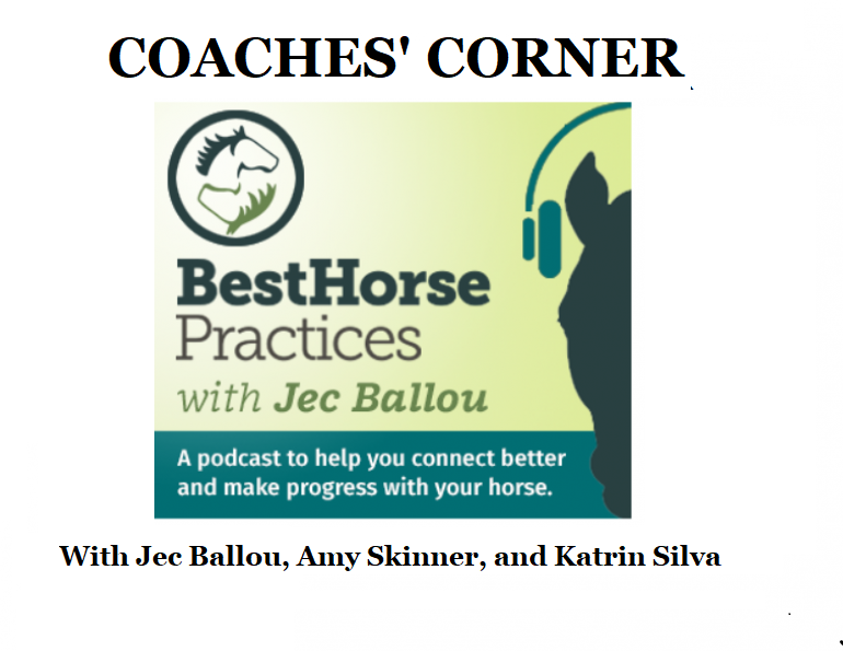 jec ballou podcast, best horse practices podcast, are horse shows good for horses? amy skinner, katrin silva
