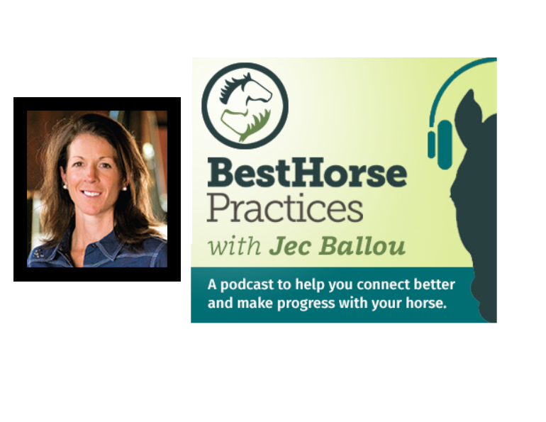 podcasts equestrian, jec ballou horse trainer, best horse podcasts