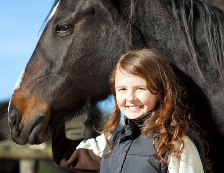 handling horses safely, equine guelph research, parents of horse lovers, coaches of child horse riders