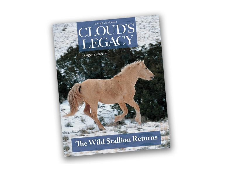 book review ginger kathrens cloud's legacy the wild stallion returns book, good horse books
