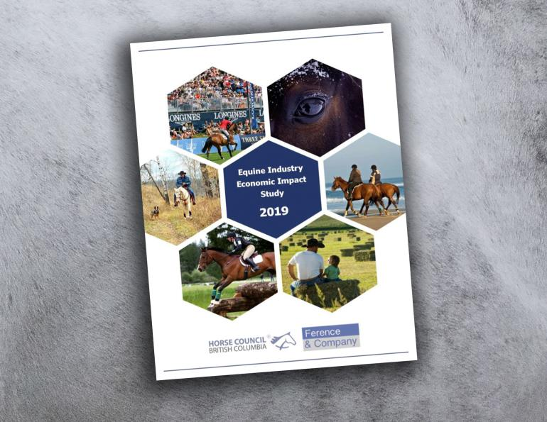 HCBC study, bc horse industry impact study, studies on canada's horse industry