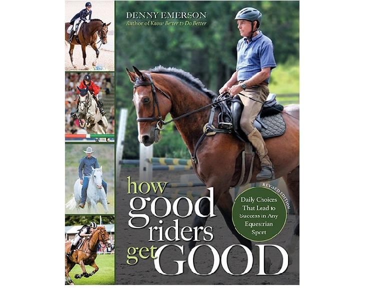 book review: how good riders get good, how to be a good horse rider, denny emerson book