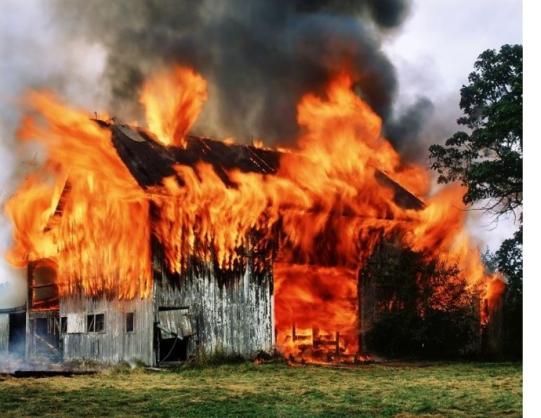 Barn Fires, fire safety barns, horse fire, arena fire, Perth East Fire Department, ventilation in barns, no smoking barns, fire extinguisher barns