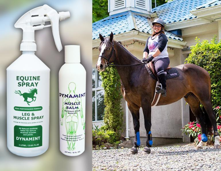 dynamint integrated bio, equine muscle rub, how to help my horse's sore muscles, equine liniments