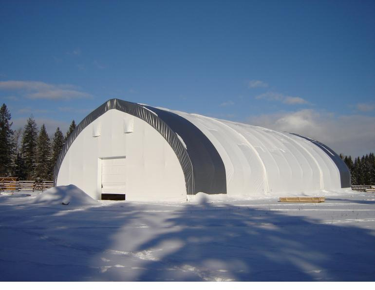 Diamond Shelters, arena builders manitoba, lavern dueck, equine covered arenas, horse arenas, equine arenas, fabric structures