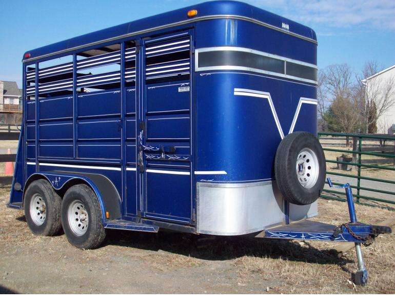 """Buying a """"Pre-owned"""" Horse Trailer"""