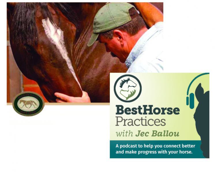 horse podcasts. jec ballou podcast, best horse podcasts