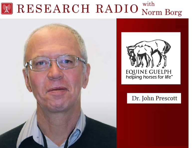 research radio podcast equine guelph, equine rhodococcus bacteria, equine bacteria