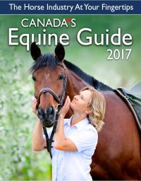 canada's equine guide, equine consumers' guide, canadian horse journal, horse industry special issue, canadian equine industry, canadian horse industry, market to canadian horse people